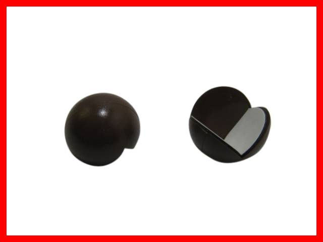 2 x eckenbumms kantenschutz eckenschutz kinderschutz m bel braun 25mm ebay. Black Bedroom Furniture Sets. Home Design Ideas